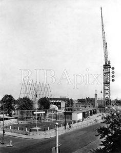 Festival of Britain Poplar 1951 East London, Britain, United Kingdom, The Unit, Summer, Summer Time, England