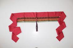 A-La-Bonne-Renommee-Rust-red-Cotton-Embroidered-Kimono-Belt-Sash-8-wide-OSFA