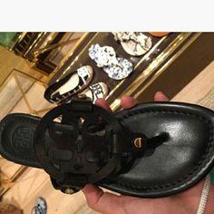 Brand New Black Sandals Brand new never worn beautiful black sandals Shoes Sandals