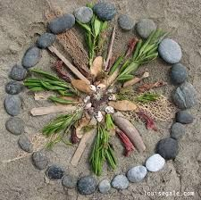 natural material mandalas - Google Search | Nature mandala ...