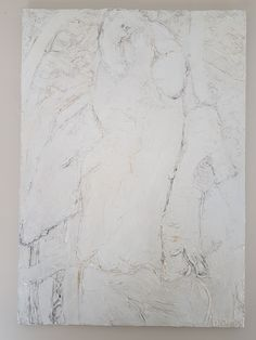 "Biollay Vanina ""Couple"" 65 x 92 cm  Acrylique , modeling past"