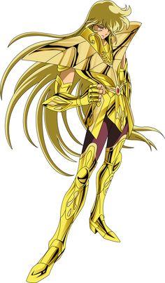 Shaka de Virgo. Caballero Dorado. Saint Seiya (png).