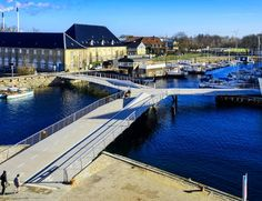 A Ponte Borboleta de Copenhaga