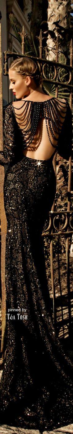 ❈Téa Tosh❈Jupiter evening dress by Galia Lahav
