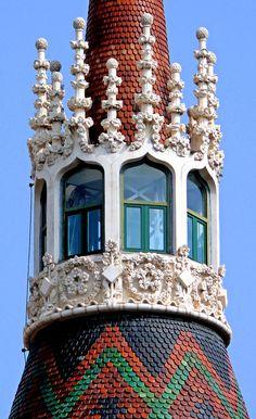 Casa de les punxes, Barcelona Catalonia  #barcelona #catalonia #catalunya  #catalonia /barcelona #catalonia/catalunya #artnouveau