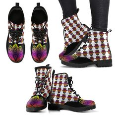 The Hand Boots Colored Black W