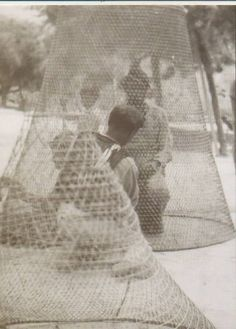 Fishing traps—called nases tal-arznell—are traditionally made with disa, a fine reed like material. These are only used in Gozo from March to mid-May. #Malta #heritage