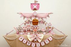 Pirate Birthday Party Package Collection Set Midi by LeeLaaLoo, $27.00