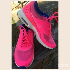 Hot Pink Nike Cute sneakers!! Nike Shoes Athletic Shoes