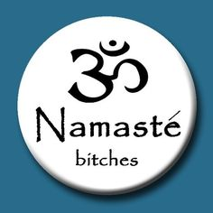 Namaste Loved and pinned by www.downdogboutique.com