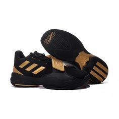 1cfc8f6c7f31 cheap adidas d roshe 7 gold black basketball shoes for sale