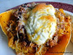 Healthy Family Cookin': Spaghetti Squash Lasagna