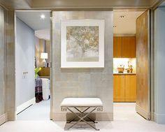 SLIDING WALLS Sliding Wall, Wall Treatments, Dream Rooms, Room Organization, Motorhome, Small Spaces, Condo, Bathtub, Walls