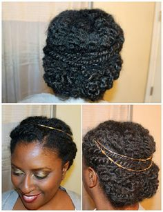 763 best cool natural hair up, up, up updo. images on Pinterest in ...