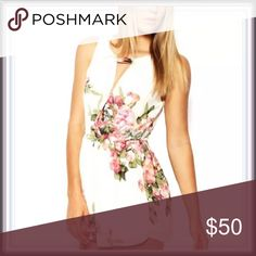 NWT Floral Choker Romper ➖NWT ➖SIZE: XS, Small, Medium, Large ➖STYLE: A Floral Romper with a Choker top design neckline. ❌NO TRADE Pants Jumpsuits & Rompers
