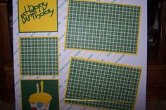 John Deere Two Page 12x12 Premade Scrapbook by 1OfAKindCrafts, $20.00