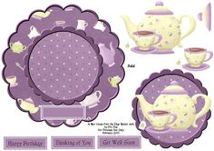 Hand made craft sheets made by Diane and shared to the world Christmas Sheets, Image 3d, Alice In Wonderland Cakes, 3d Sheets, 3d Craft, 3d Paper Crafts, Shaped Cards, Easel Cards, Digi Stamps