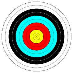 FITA Official Face, archery target