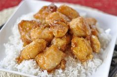 Gluten free Sweet and Sour Chicken... michael has made this for us twice and it is SO very good. We always add pineapple and sweet peppers chunks before baking. Its officially in the dinner rotation.