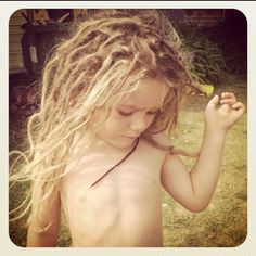 I can't wait for my kid to have dreads too!