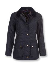 The familiar Beadnell is reinvented in this classic Barbour® women's waxed cotton jacket.