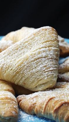 Recipe with video instructions: Lobster tails for breakfast? Warm, flaky, cheese-stuffed lobster tails Lobster tails for breakfast? Lobster Tail Pastry, Lobster Tails, Baking Recipes, Dessert Recipes, Puff Pastry Recipes, Savory Pastry, Choux Pastry, Delicious Desserts, Yummy Food