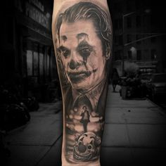 Tattoo competition page for Best Black & Grey Tattoo Best Cover Up Tattoos, Best Tattoos For Women, Cool Small Tattoos, Movie Tattoos, Joker Tattoos, Couple Tattoos, Tattoo Expo, Tattoo Shows, Tattoo Mafia