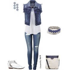 """CASUAL LOOK!!!!"" by marion-fashionista-diva-miller on Polyvore"