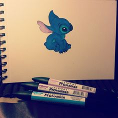 #promarker #stitch #draw #drawing #liloestitch