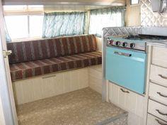 Vintage Camper/Nice nice nice stove!