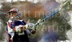 Scott Melby Digital Artist | Lacrosse Art