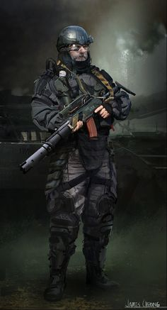 Russian Mercenary 2025 by jameschg.deviantart.com on @DeviantArt