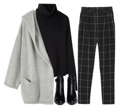 """Grey Skies"" by theyouthryder ❤ liked on Polyvore featuring Monki, Helmut Lang, Alexander Wang and Toast"