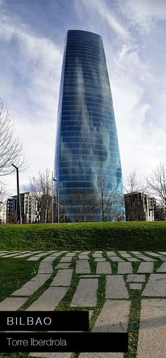 Basque Country, Bizkaia, Bilbao, Iberdrola Tower