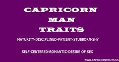 Image result for capricorn male traits