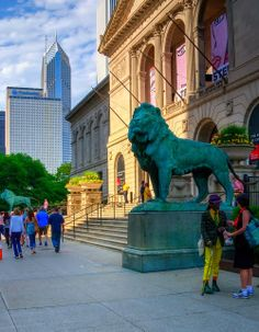 The Art Institute of Chicago  111 South Michigan Avenue Hours: Closed Christmas and New Years, Open daily 10.30 to 5.00 Admission: $23 pp