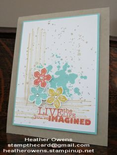 gorgeous grunge stampin up - Google zoeken