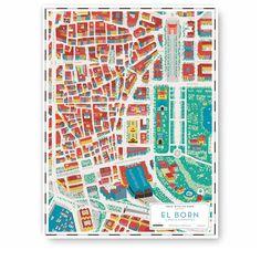 Le mappe illustrate di Walk With Me - Frizzifrizzi