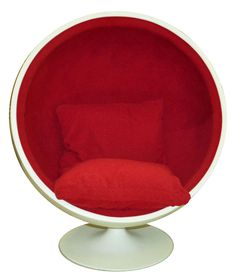Vintage Eero Aarnio Style Ball Chair by CCDeuxVie on Etsy, $650.00