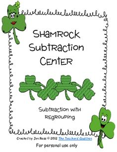 Students can practice their 2-digit subtraction skills, deciding if they need to regroup or not. ...