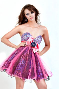 Pink Short Formal Dress