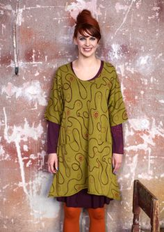 """Slinga"" knitted eco-cotton tunic – Sweaters & cardigans – GUDRUN SJÖDÉN – Webshop, mail order and boutiques 