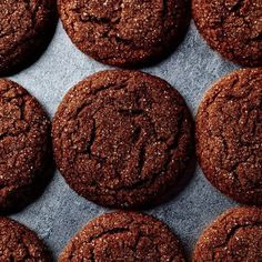 Molasses keeps these cookies magically fresh and chewy for days. I used all spice in place of cinnamon- yummy cookies. Cookie Desserts, Cookie Bars, Just Desserts, Cookie Recipes, Dessert Recipes, Gourmet Cookies, Galletas Cookies, No Bake Cookies, Anisette Cookies