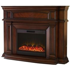 allen W Mink Wood Wall-Mount Electric Fireplace with Remote Control from Lowes Decor, Master Suite Addition, Decor Design, Room Inspiration, Bedroom Decor, Home Design Decor, Living Room Inspiration, Fireplace, Lowes Home Improvements