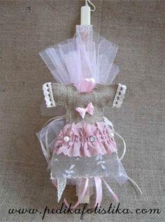 Η Σουζάνα φτιάχνει πασχαλινές λαμπάδες!   bombonieres.com.gr Easter Crafts, Candles, Greek, Accessories, Decorated Candles, Candy, Candle Sticks, Greece, Candle