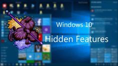 Actually the features are not totally hidden. There are ways to find out and…