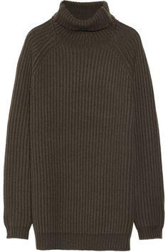5a23f4427db12 Haider Ackermann Chunky  Knit  Sweater Haider Ackermann