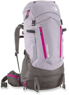 Engineered with a women-specific fit and the easy-to-use OPTIFIT suspension system, The North Face Terra 55 pack for women is lightweight and dialed-in with enough capacity for several days out.