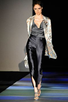 Italian style - Giorgio Armani, Spring 2012