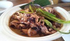 13 Jan 2013 - adobong pusit from Matutina's Seafoods, Pangasinan
